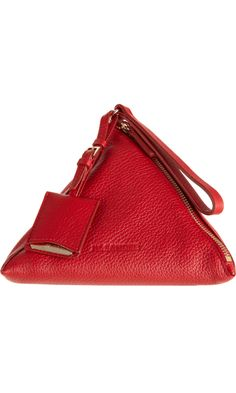 Jil Sander Square Evening Wristlet
