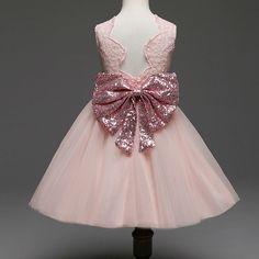 Bowknot Girls Princess Dress https://www.popreal.com/Products/bowknot-girls-princess-dress-1827.html #newbornprincessdress       #princessnewborndress    #cutenewbornprincessdress