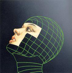 cyberpunk, retro-futuristic art