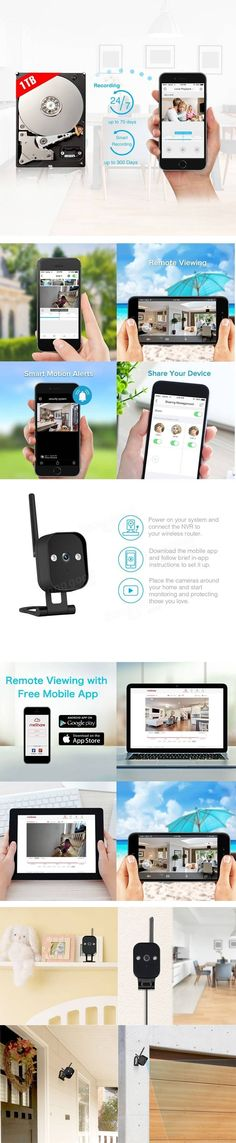 Christmas Sale Buy 3 in 1 WIFI Home Security Camera with Cloud