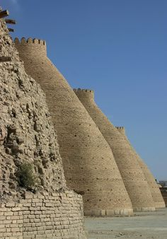 bukhara city walls - Bukhara, Uzbekistan // photo by maja mostarcic
