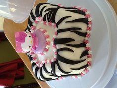 Hello Kitty zebra cake!!!