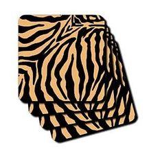Tiger Print II - Coasters