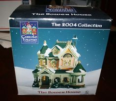 BRAND NEW NIB Carole Towne Collection Lemax The Bower House 2004 Rare