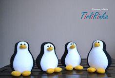 How to make a felt penguin - Tutorial