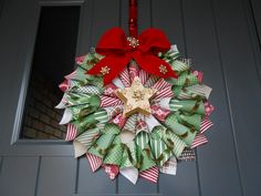 Christmas Cone Wreath. Using Trim the Tree DSP Stack