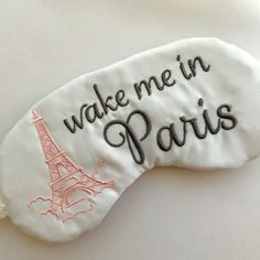 Paris is Always A Good Idea! Ooh Lala this Handcrafted sleep mask sets the scene for rest and is perfect little gift for many occasions. The