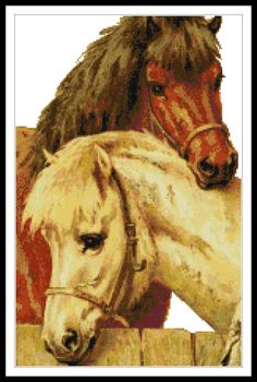 Pony Counted Cross Stitch Kit