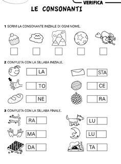 First Grade, Grade 1, Montessori, Back To School, High School, Italian Language, Learning Italian, Primary School, Preschool Activities