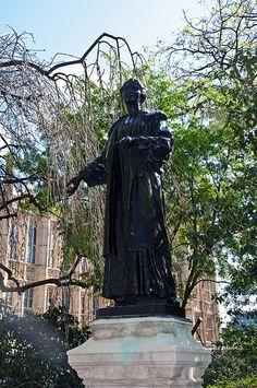 The Suffragette by D_Alexander, via Flickr, Emmeline Pankhurst, Westminster, London