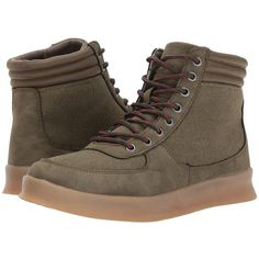 Rocket Dog Gamer (Olive Orchard) Women's Lace up casual Shoes (190 BRL) ❤ liked on Polyvore featuring shoes, army green shoes, small heel shoes, olive shoes, olive green shoes and flexible shoes