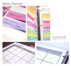 Home Made by Carmona: Menu Planner...doing this now!