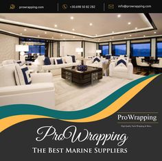 Best Interior, Interior And Exterior, Best Yachts, Wrapping, Greece, Wraps, Design Ideas, Classy, Range
