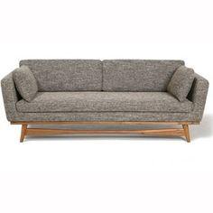Très beau canapé design style années 50. Les pieds du canapé en ...