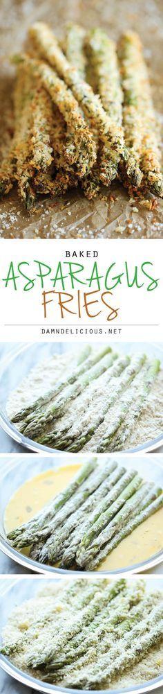 Baked Asparagus Fries -