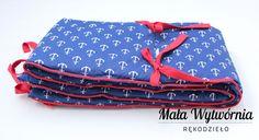 Ochraniacz na łóżeczko www.facebook.com/malawytwornia