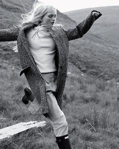 The Inner Hebrides (Holiday Magazine) Josh Olins - Photographer Clare Richardson - Fashion Editor/Stylist