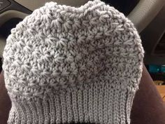 Messy bun hat-with tutorial - CROCHET