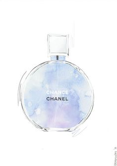#perfume #chanel #illustration