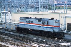 AMTRAK #760 (by rrradioman)  AMTRAK #760  Chicago in June 1983.