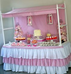 Little Big Company | The Blog: A Pretty Pink and White Whimsical Themed Party by The Inspired Ocassion