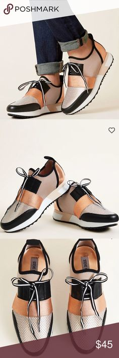 STEVE MADDEN ROSE GOLD ANTICS SHOE Rose gold super cute Steve Madden shoes Steve Madden Shoes
