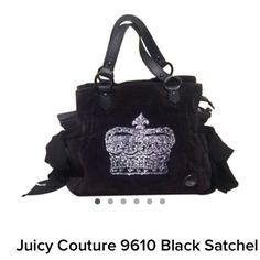Juicy Couture Satchel Juicy Couture Black satchel Juicy Couture Bags Satchels