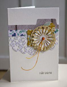 Blütenstempel: Restekarte No. 2