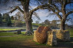 Willow Sculpture | Organic Structure |The Swarm | Chatsworth House | Laura Ellen Bacon