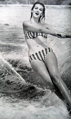 Carmen Dell'Orefice by Norman Parkinson ~ 1959 Vogue