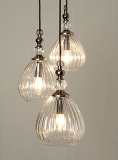Mirielle 3 light Cluster - Ceiling Lights - Home, Lighting & Furniture