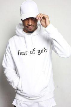 61e1108945 Sweat Capuche Streetwear Fear Of God Berysquad Blanc - Sweats Capuche -  Homme – streetwear
