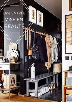 Bien trop souvent considérée comme une simple pièce de passage, l'entrée donne le ton à la décoration de toute la maison.  Voici quelques conseils pour l'optimiser : www.soodeco.fr