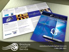 IT Company Brochure Design - Designers, Samples, Inspiration, Templates - http://www.brochuredesignservice.com/Brochure-Design-T1619.html