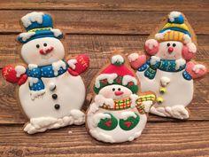 Обезьянки, снеговики, снежинки и ёлки :) - Кондитерская - Babyblog.ru