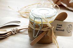Ginger Lemon Bodyscrub - Opskrift