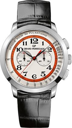70061649627 Girard-Perregaux 1966 Chronograph Doctor s Watch for Dubail - Luxois