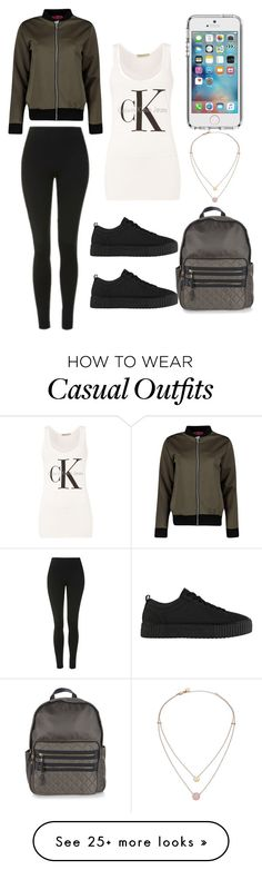 """Casual Wear"" by laurenc16 on Polyvore featuring Boohoo, Calvin Klein, Topshop, Firetrap, Speck and Michael Kors"