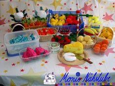 Die 2641 Besten Bilder Von Kaufladen In 2019 Crochet Food Play