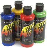 Createx Auto Air Colours - Wholesale Craft Supplies, Craft Supplies Online, Painted Concrete Floors, Painting Concrete, Carol Ann, Tempera, Paint Shop, Paint Party, Red Apple