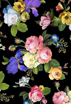 eQuilter Kaffe Fassett's Quilts in the Cotswolds Art Floral, Floral Print Fabric, Floral Prints, Flower Wallpaper, Wallpaper Backgrounds, Iphone Wallpaper, Wallpapers, Cellphone Wallpaper, Botanical Flowers