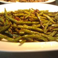 Szechuan Style String beans Chinese Food, Green Beans, Main Dishes, Asian, Baking, Vegetables, Recipes, Style, Main Course Dishes