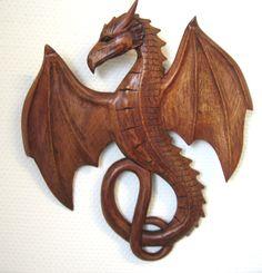 Dragón carving