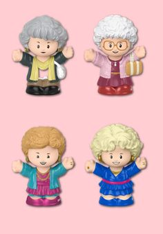 The new Golden Girls set of Fisher Price Little People Figurines are just out! What a perfect affordable gift for anyone you want to thank for being a friend. #toys #goldengirls #popculture #holidaygifts #toysforkids #giftsforgirlfriends Toddler Toys, Baby Toys, Kids Toys, Birthday Gifts For Best Friend, Best Friend Gifts, Cool Gifts For Kids, Gadget Gifts, Golden Girls, Toys For Girls