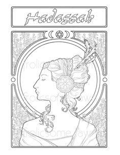 Rainha Esther,: Rainha Esther na coloração página Palace ...