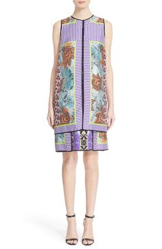 Etro Print Silk Layer Dress available at #Nordstrom