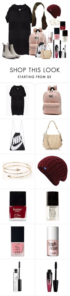 """Sammi McCall 1x3"" by samtiritilli666lol ❤ liked on Polyvore featuring MM6 Maison Margiela, Vans, NIKE, Forever 21, Keds, Butter London, NARS Cosmetics, Benefit, MAC Cosmetics and Charlotte Russe"