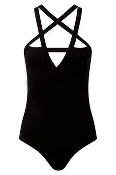 black goth bodysuit with pentagram detail by KILLSTAR Fashion Mode, Dark Fashion, Gothic Fashion, Mode Alternative, Alternative Fashion, Killstar Clothing, Black Bodysuit, Women Lingerie, Cool Outfits