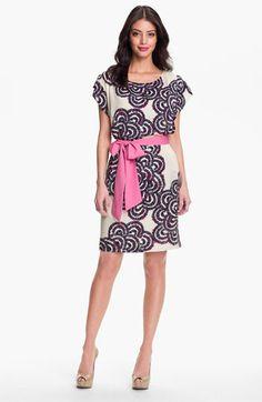 Eliza J Print Blouson Dress available at #Nordstrom