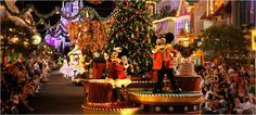 If you're in Orlando during the Christmas holidays, be sure to see the parade in Disney World http://www.orlandorentalplaces.com/